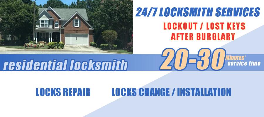 Residential locksmith Johns Creek